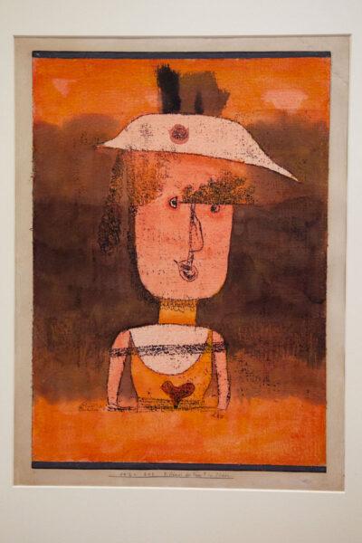 Paul Klee – Ritratto di Frau P. nel Sud