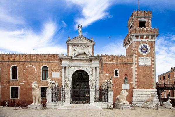 Arsenale di Venezia - Ingresso tramite Porta di Terra