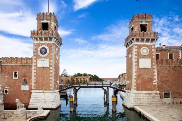 Arsenale di Venezia - Torri di ingresso