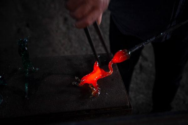 Artigiani del vetro - lavorazione del vetro a Murano