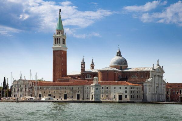 Basilica di San Giorgio Maggiore a Venezia - vista dalla Laguna