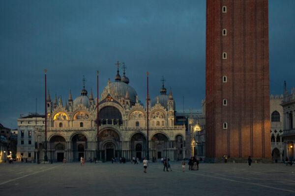 Basilica di San Marco di notte