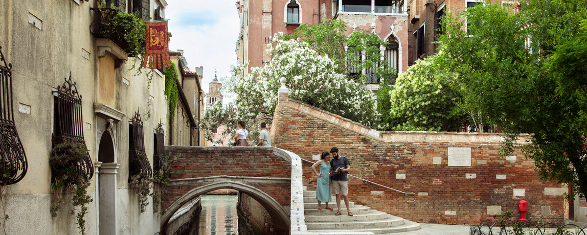 Campo e Canali del Sestiere Dorsoduro di Venezia