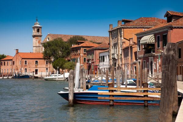Canali sulle isole di Murano
