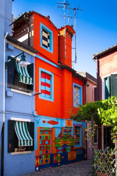 Casa di Bepi Sua - casa più colorata di Burano