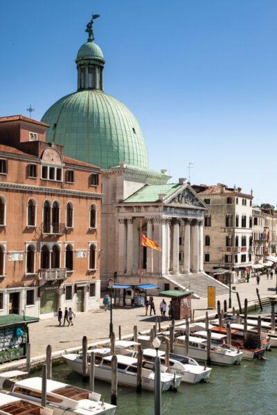 Chiesa di San Simeon Piccolo - Sestiere Santa Croce a Venezia