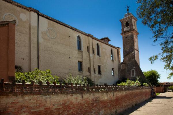 Chiesa di Santa Maria degli Angeli a Murano - fiancata esterna