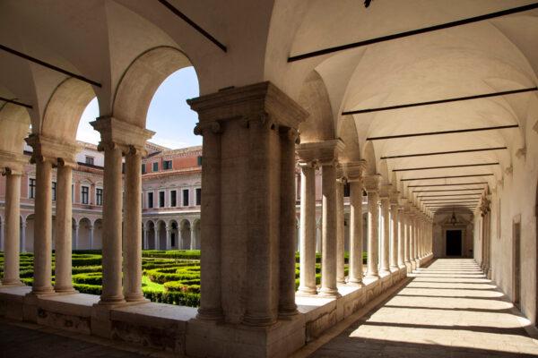 Chiostro del monastero di San Giorgio Maggiore a Venezia