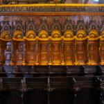 Coro dei Frati quattrocentesco - Basilica dei Frari a Venezia