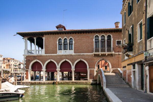 Edificio del Mercato di Rialto a Venezia