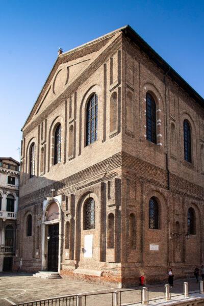 Esterni della Scuola Grande di Santa Maria della Misericordia
