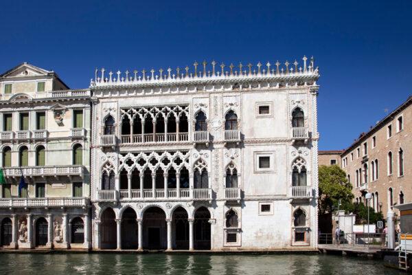 Facciata della Cà d'Oro di Venezia
