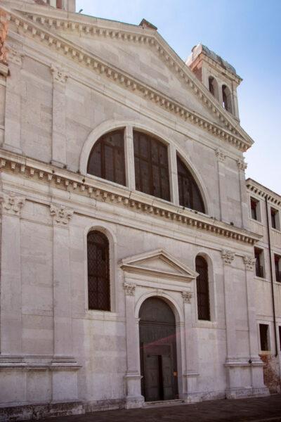 Facciata della Chiesa delle Zitelle alla Giudecca