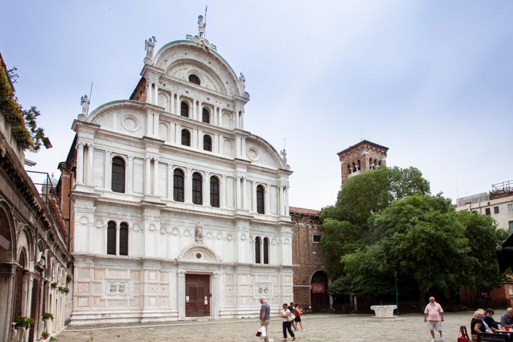 Facciata della Chiesa di San Zaccaria - Sestiere Castello di Venezia