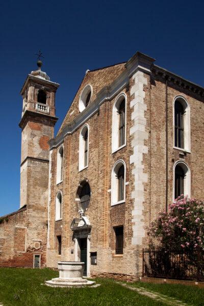 Facciata della Chiesa di Santa Maria degli Angeli a Murano