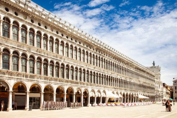 Facciata delle Procuratie Vecchie - abitazione procuratori di San Marco