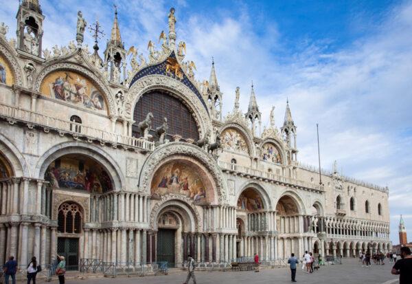 Facciata mosaici e quadriga di San Marco - Venezia