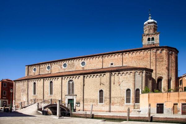 Fiancata della Chiesa di San Pietro Martire di Murano