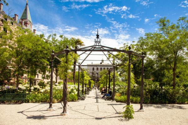 Giardini reali di Venezia vicini a piazza San Marco