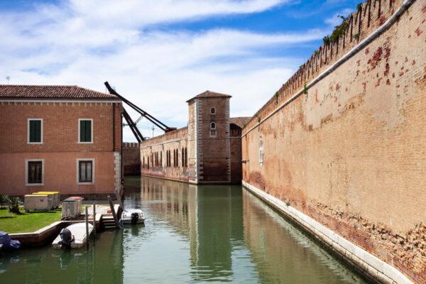 Il Grande Arsenale di Venezia - Mura esterne