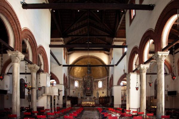 Interni del Duomo di Murano - Basilica dei Santi Maria e Donato