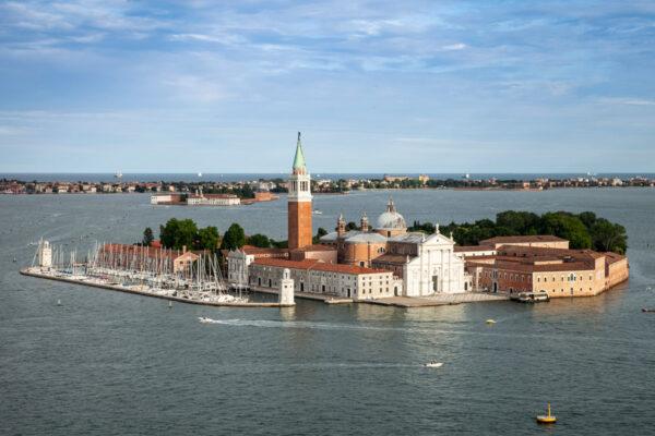 Isola di San Giorgio Maggiore e Basilica di San Giorgio Maggiore