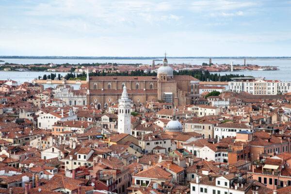 Murano vista dal Campanile di San Marco di Venezia