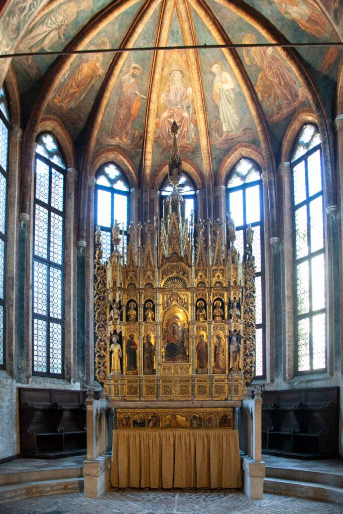 Pala altare chiesa di San Zaccaria - Venezia