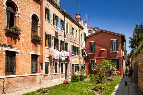 Palazzi e giardini isola della Giudecca - Venezia