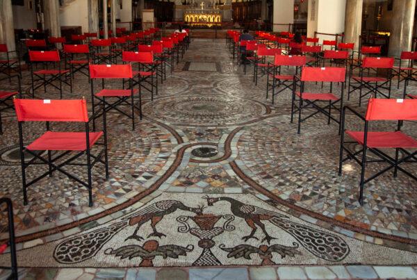 Pavimento mosaicato del XII secolo - Duomo di Murano