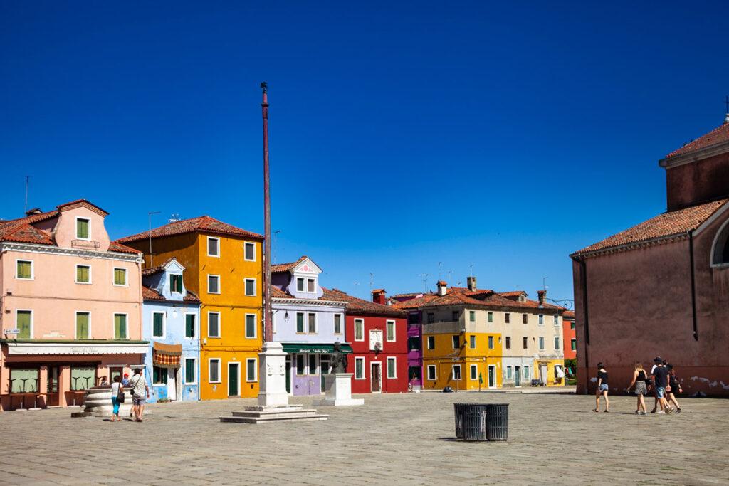 Piazza Baldassarre Galuppi di Burano