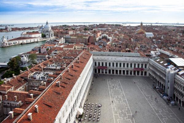 Piazza San Marco vista dal campanile