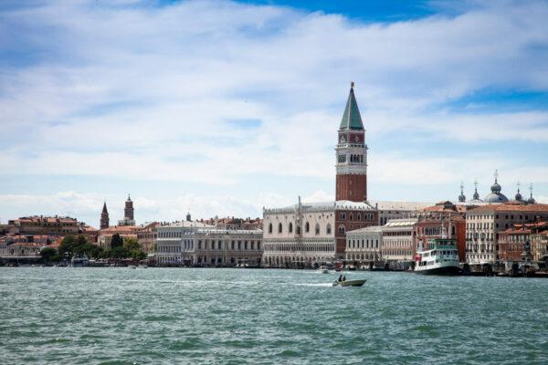 Piazza San Marco vista dal mare