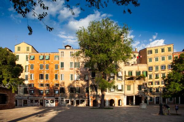 Piazza del Ghetto Nuovo di Venezia