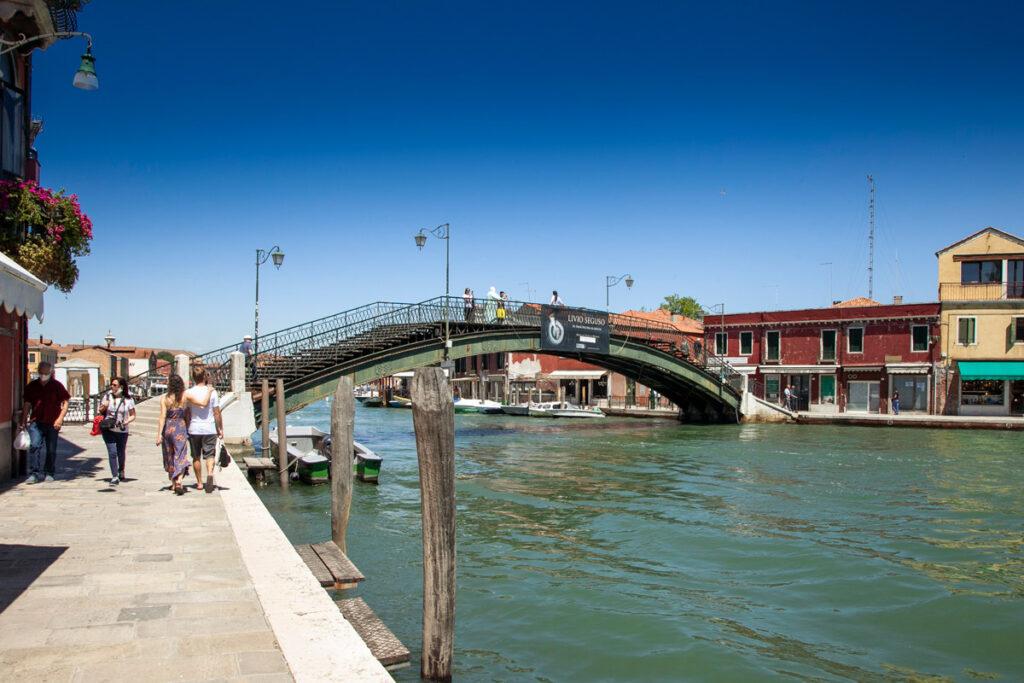 Ponte Longo sul canal Grande di Murano