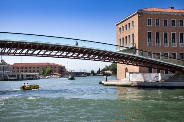 Ponte della Costituzione di Venezia - Progetto di Calatrava