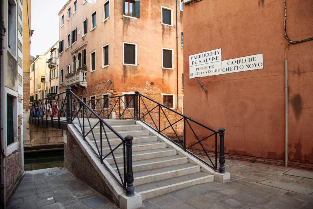 Ponte per il ghetto vecchio di Venezia