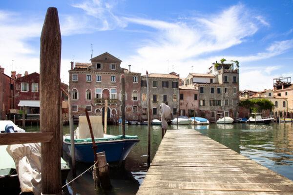 Pontile sul canale di San Pietro