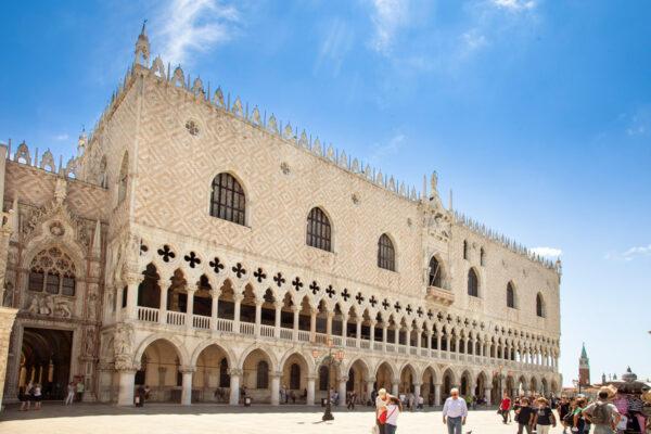 Porta della Carta e Palazzo Ducale di Venezia