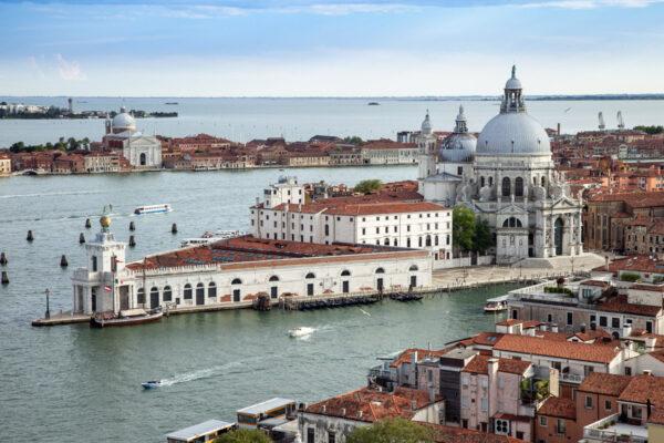 Punta della Dogana vista dal campanile di San Marco