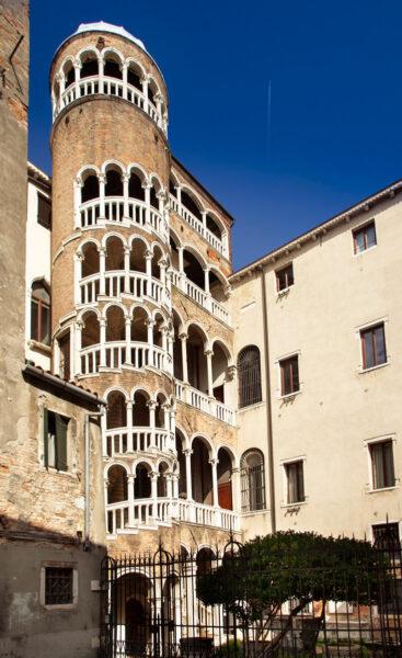 Scala Contarini del Bovolo - Cosa vedere nel Sestiere San Marco