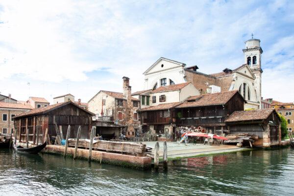 Squero di San Trovaso - Officina delle Gondole a Venezia