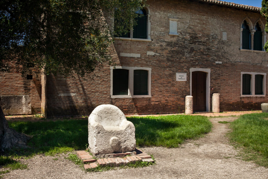 Trono di Attila a Torcello
