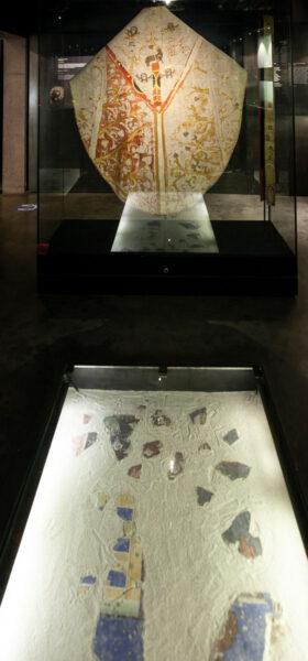 Affreschi romani e Casula di Uta von Tarasp