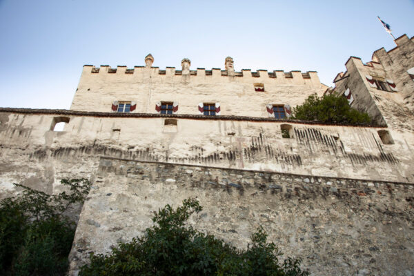 Bastione posteriore del castello - rinforzato per resistere ad attacchi