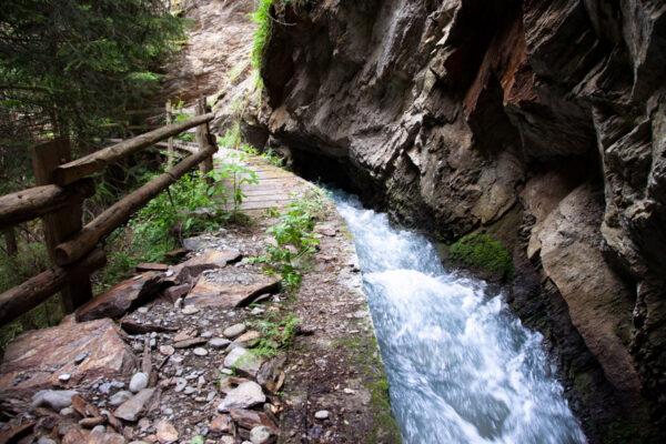 Berkwaal di Sluderno - il sentiero delle rogge più bello