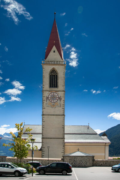 Campanile della chiesa di Santa Maria Assunta di Malles Venosta