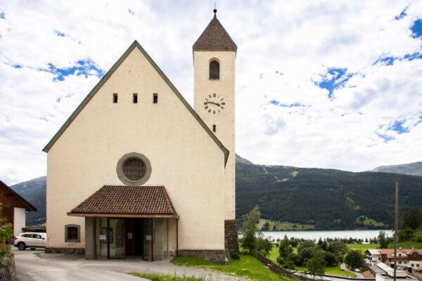 Facciata della chiesa di Santa Caterina