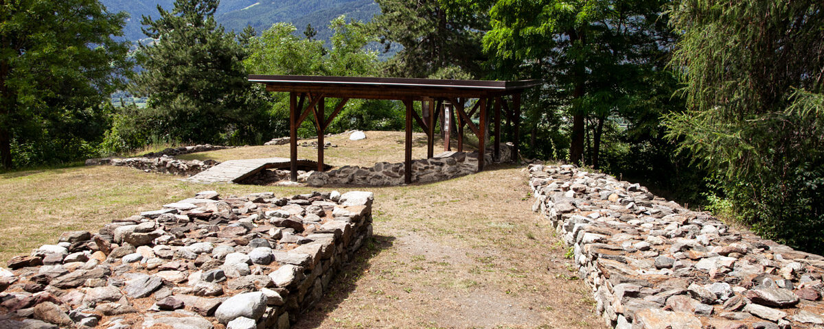 Gangi di Ganglegg - Recinzione per animali archeologica