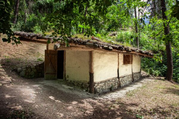 Ganglegg - Ricostruzione di una casa della eta del bronzo